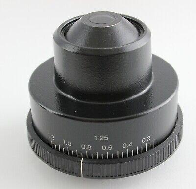 Olympus U-ac 1.25 Condenser Bh2 Bx Microscope Bx40 Bx41