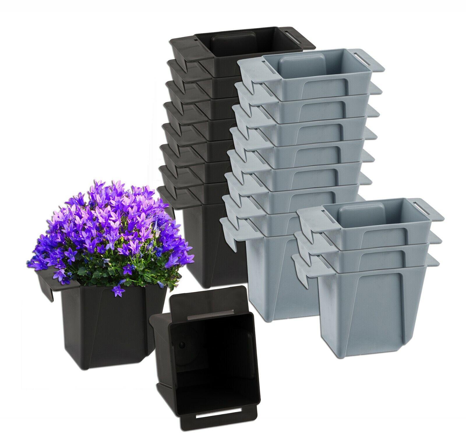 Palettenkasten Pflanzkübel Blumentopf Hängekasten Einsatz Kiste für Europalette