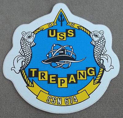 US Navy Decal - Sticker - USS Trepang SSN - 674