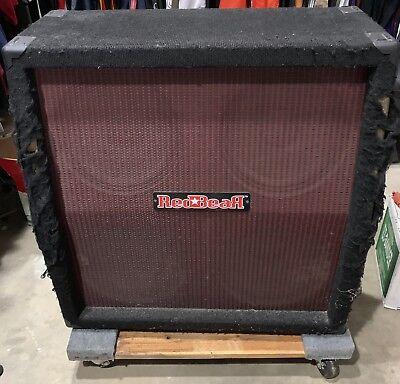 Red Bear 4x12 cabinet guitar speaker celestion G12L-35 gibson novik (4x12 Celestion Speaker Cabinet)