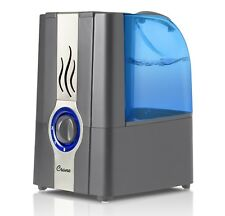 CRANE Slate Blue Warm Mist Humidifier Clean Control 1 gallon Grey EE5201GR