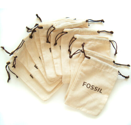 Fossil Jewelry Pouch Bag Lot of 12