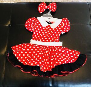 Minnie Mouse costume - 2/3T