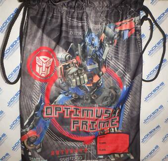 Book Bag: Transformers Optimus Prime & Bumblebee Greenwood Joondalup Area Preview