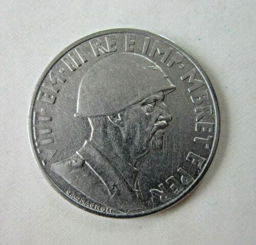 ALBANIA, ITALIAN OCCUPATION. 1 LEK, 1939. MAGNETIC.