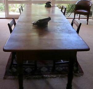 Antique boardroom table with amazing history Capital Hill South Canberra Preview