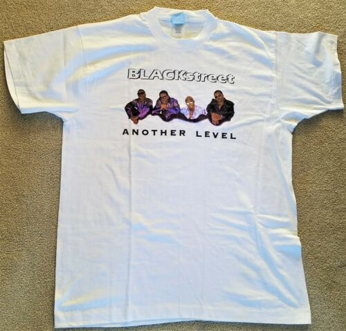 Vintage BLACKstreet 97 Tour 2-Sided T-Shirt Size XL Another Level No Diggity!
