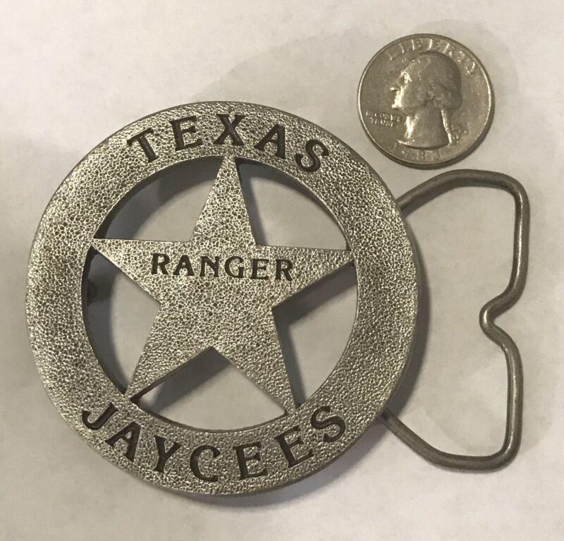 Texas Jaycees Ranger Belt Buckle, Texas Mafia