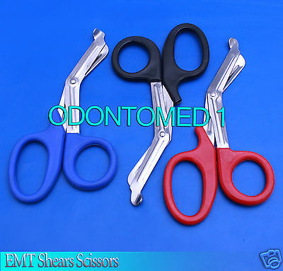 3 Utility Scissors 7.5 Emt Medical Paramedic Nurse