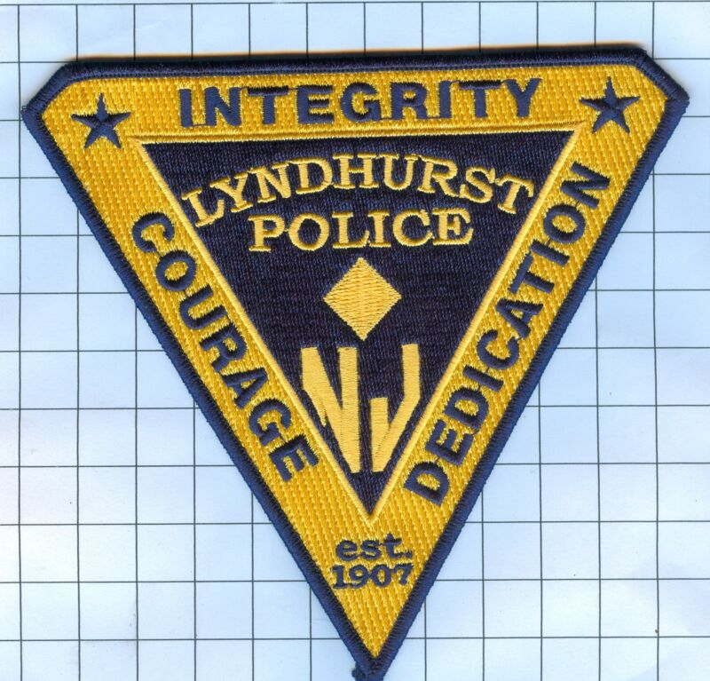 Police Patch  - New Jersey - Lyndhurst