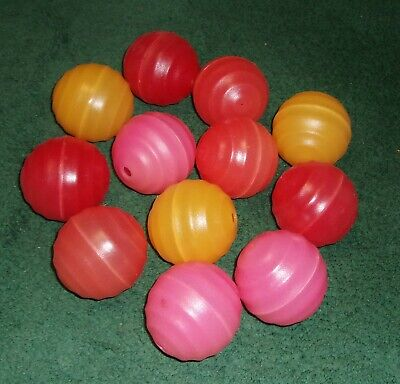 """Vintage Blow Mold RV Patio Camper Lights - REPLACEMENT LIGHTS - 2 1/2"""" diam"""