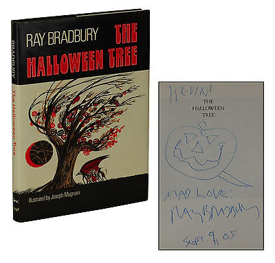 The Halloween Tree ~ SIGNED by RAY BRADBURY ~ Stated First Edition 1st Printing](The Halloween Tree 1st Edition)