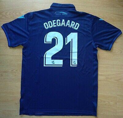 Camiseta Odegaard Real Sociedad Macron 19-20 Shirt Trikot Maillot Maglia Skjorte