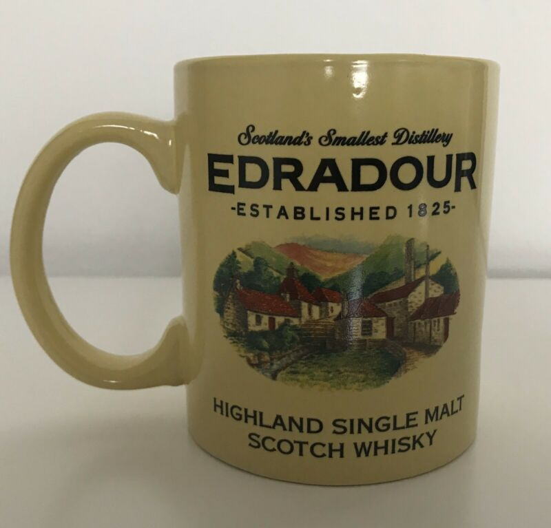 Edradour Highland Single Malt Scotch Whisky Mug (Whiskey)