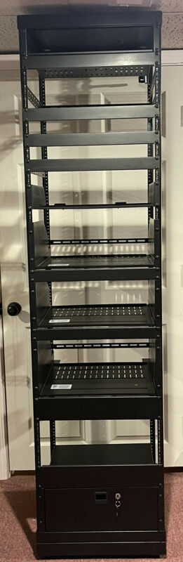 AV Equipment Rack With Accessories  42U