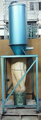 Aec Whitlock Vacuum Dust Collector Filter With Bucket 2 Inlet Outlet