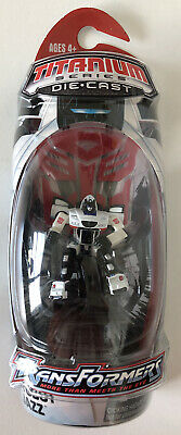 "Hasbro Transformers Titanium Series Die Cast ""Autobot Jazz"" Action Figure *NEW*"