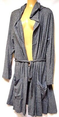 TS robe TAKING SHAPE plus sz XS / 14 Hooded Timeless Robe soft dressing gown NWT