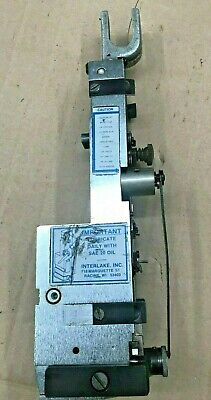 Interlake Acme Champion Wire Stitcher Single Head 12 Crown - Magnetic Swivel