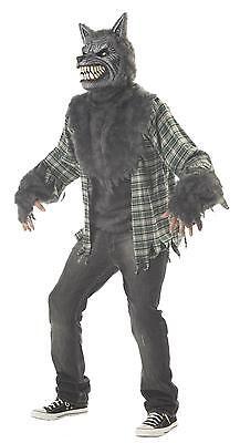 Twilight Werewolf Full Moon Madness Wolf Adult Costume](Moon Man Costume)