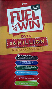 CO-OP FUEL UP TO WIN • $$$TICKET COULD WIN$$$$