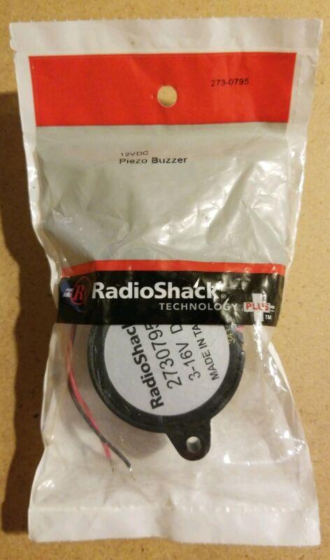 NEW! RadioShack 12VDC Piezo Buzzer 2730795 *FREE SHIPPING*