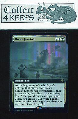 MTG Throne of Eldraine **FOIL** Doom Foretold NM//M Rare