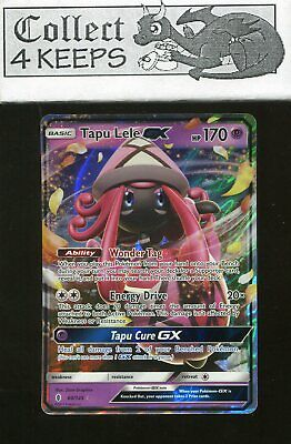 Tapu Lele GX 60/145 Ultra Rare Guardians Rising Near Mint Pokemon TCG *A*