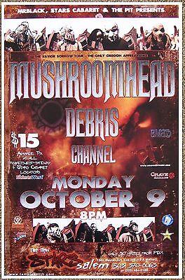 MUSHROOMHEAD 2006 Gig POSTER Salem Oregon Concert