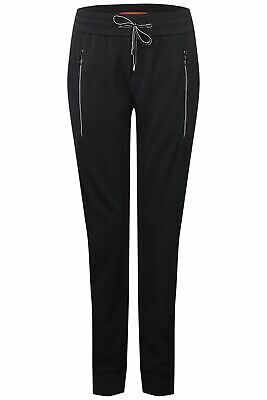 Damen Jogger Hose Bonny Fit Loose Zipper # STREET ONE # Gr.34 L30 marine NEU