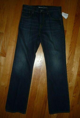 New Gap Boys Boot Cut Jeans 16 Adjustable Waistband
