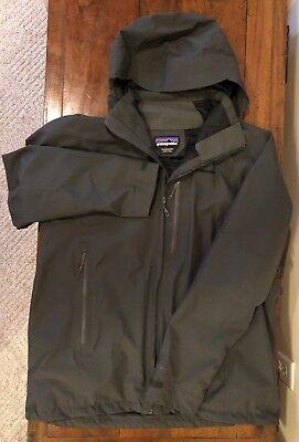 Mens Patagonia Piolet Jacket Gray XL