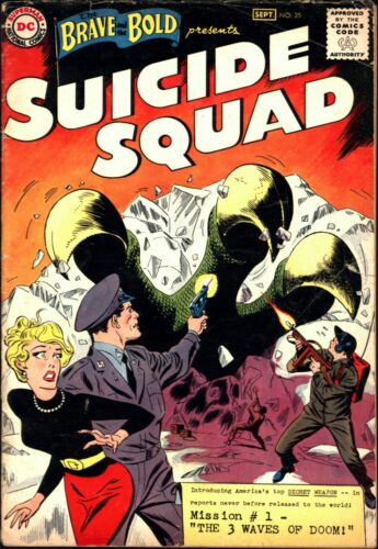 Brave and the Bold #25 Silver Age DC 3.5