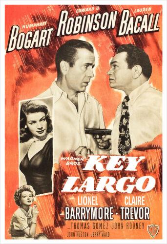 Key Largo - Movie Poster Print