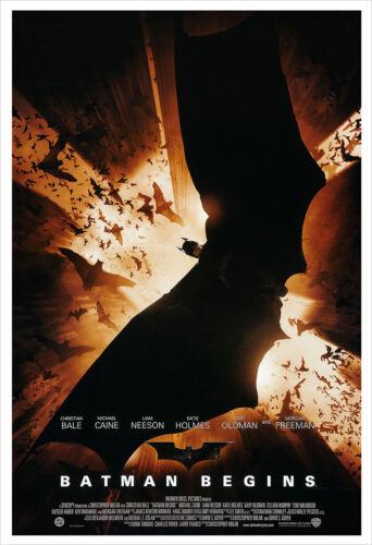 Batman Begins - Movie Poster Print