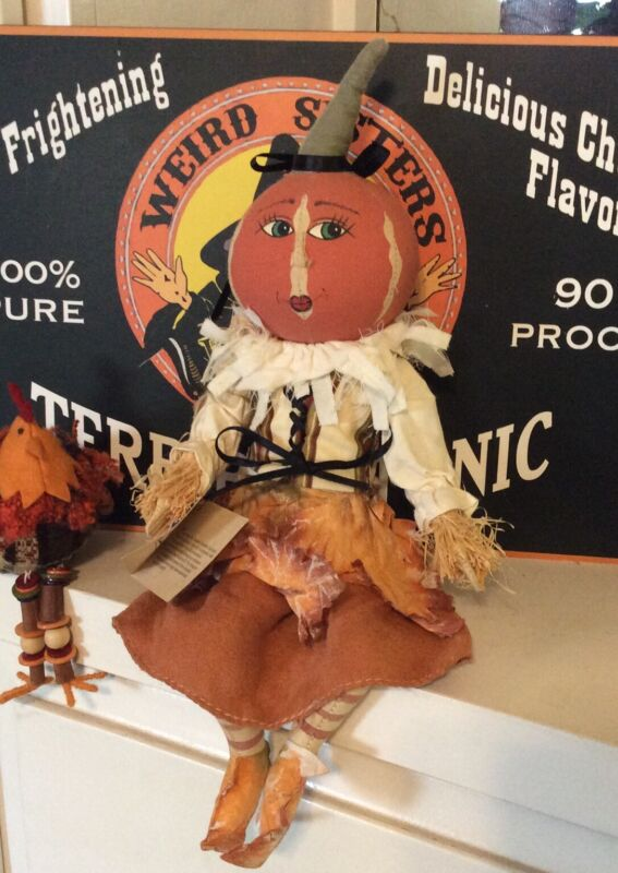 """Joe Spencer Gathered Traditions """" Leslie Leaf"""" - Fall, Halloween, Thanksgiving"""