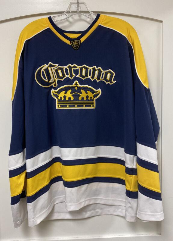 Corona Extra Beer Hockey Jersey Men