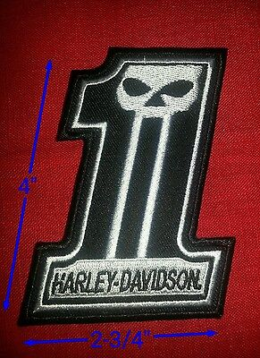 Harley Davidson Willey G. #1 Patch 2-3/4'' by 4''  Free Shipping