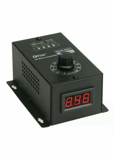 DROK DC Motor Controller - DC 6-90V 15A Max & FREE SHIPPING