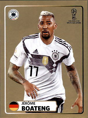 Panini WM Sticker 2018 World Cup Russia Jerome Boateng McDonalds Sticker M1
