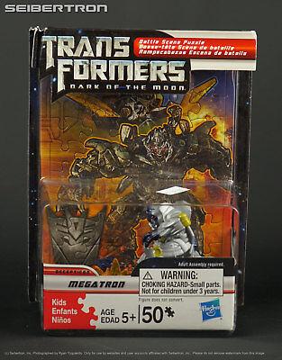 MEGATRON Transformers Dark of Moon Robot Heroes Battle Scene Puzzle 2011](Transformers Scene)