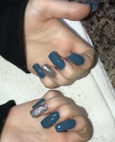 Acrylic nails, fills, manicures and waxing