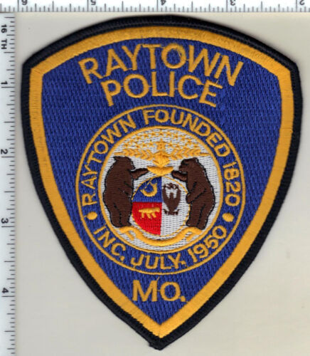 Raytown Police (Missouri)  Shoulder Patch  from 1991