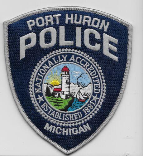 Colorful Lighthouse Prt Huron Police State Michigan MI