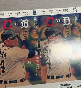Tigers VS Indians May 2 @ 7:10