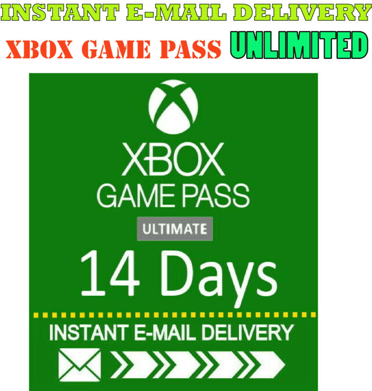 Xbox Live Gold +  Xbox Game PASS Ultimate 14 Day 2 Weeks INSTANT DELIVERY