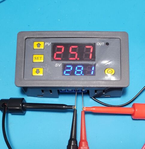 Digital LED Microcomputer Thermostat Controller Switch Temperature Sensor  W3230