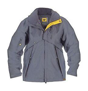 caterpillar c085 mens deluxe jacket polyester waterproof