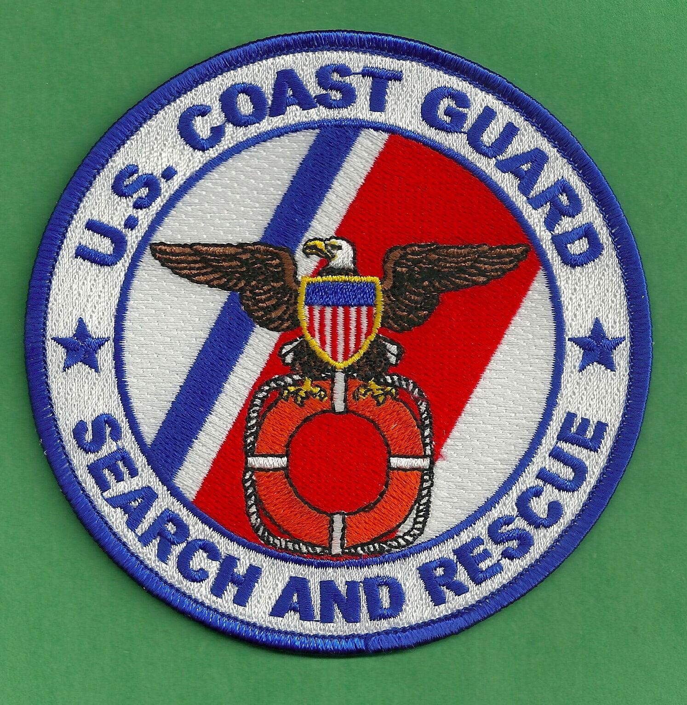 UNITED STATES COAST GUARD SEARCH & RESCUE PATCH