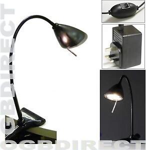 clip on bed light ebay. Black Bedroom Furniture Sets. Home Design Ideas